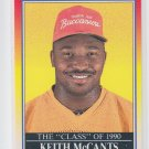 Keith McCants Rookie Card Class of 90 1990 Score #617 Buccaneers