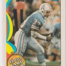 Mike Rozier 1000 Yard Club HL 1989 Topps #24 Houston Oilers