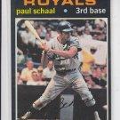 Paul Schaal Vintage Baseball Card 1971 Topps #487 Royals VGEX