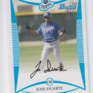 Jose Duarte 1st Prospect Card 2008 Bowman #BP40 Royals x1