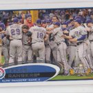 Texas Rangers World Series Highlights 2012 Topps #59