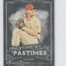 Jered Weaver Pastime's Pastimes 2014 Topps Allen & Ginter #PP-JW Angels