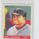 David Ortiz MIni SP 2007 Upper Deck Goudey #235 Red Sox