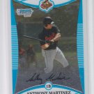 Anthony Martinez 1st Prospect Card 2008 Bowman Chrome #BCP13 Orioles