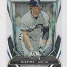 Ryan Braun Cutting Edge Stars Die Cut  2013 Bowman Platinum #CES-RB Brewers
