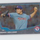 Derek Holland Baseball Trading Card 2012 Topps Chrome #53 Rangers