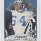Eric Sanders Rookie Card 1990 Fleer #285 Lions