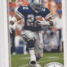 Emmit Smith Football Trading Card 1991 Upper Deck #172 Cowboys