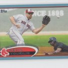Kevin Youkilis Blue Parallel 2012 Topps #160 Red Sox Yankees