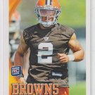 T.J. Ward Rookie Card 2010 Topps #245 Browns