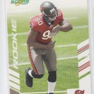 Gaines Adams Rookie Card Glossy Parallel 2007 Score Football #352 Buccaneers