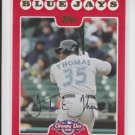 Frank Thomas Baseball Card 2008 Topps Opening Day #95 White Sox HOF 2014
