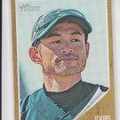 Ichiro Suzuki Baseball Card 2011 Topps Heritage #238 Yankee Mariners