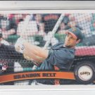 Brandon Belt Rookie Card 2011 Topps Series 2 #605 Giants