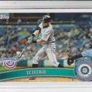 Ichiro Baseball Card 2011 Topps Opening Day #110 Mariners Yankees