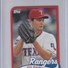 Yu Darvish 1989 Die Cut Mini 2014 Topps #TM-48 Rangers