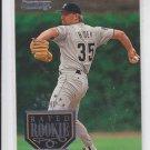 John Hubek Rated Rookie Baseball Card 1995 Donruss #170 Astros