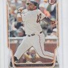 Pablo Sandoval Baseball Card 2014 Bowman #148 Giants x1