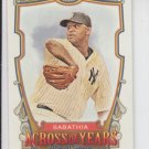 CC Sabathia Across The Years Insert 2013 Topps Allen & Ginter #ATY-CCS Yankees