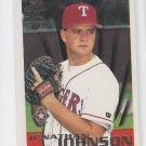 Jonathan Johnson Rookie Card Draft Pick 1996 Topps #242 Rangers