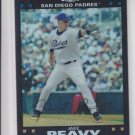 Jake Peavy Refractor 2007 Topps Chrome #69 Padres Red Sox