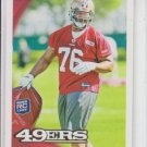 Anthony Davis Rookie Card 2010 Topps #173 49ers
