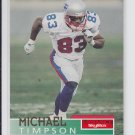 Michael Timpson Football  Trading Card 1995 Skybox Impact #95 Patriots *BOB