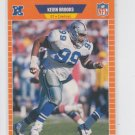 Kevin Brooks Football Trading Card 1989 Pro Set #88 Cowboys *BOB