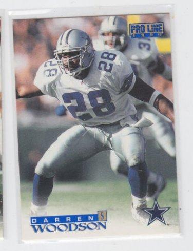 Darren Woodson Football Trading Card 1996 Pro Line #299 Cowboys *BOB