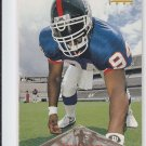 Cedric Jones Football Rookie Card 1996 Pinnacle #154 Giants *BOB
