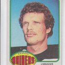 Ted Hendricks Football Trading Card 1976 Topps #78 Raiders ExMT *ED