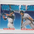 Frank Thomas & Fred McGriff AS 1993 Topps #401 Braves White Sox *ED