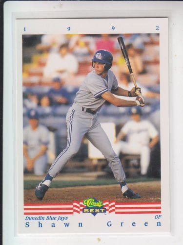 Shawn Green Rookie Card 1992 Classic Best #246 Blue Jays