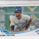 Jose Reyes Baseball Card 2013 Topps Team Edition #AL-13 Blue Jays
