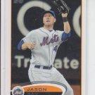 Jason Bay Baseball Trading Card 2012 Topps Series 1 #251 Mets QTY