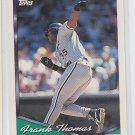 Frank Thomas Baseball Trading Card 1994 Topps Series 1 #270 White Sox