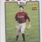 Hunter Pence Baseball Trading Card 2008 Topps Series #225 Astros Giants