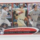 Jim Thome Alex Rodriguez Jason Giambi LL 2012 Topps #324 Yankees Indians