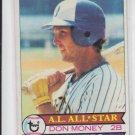 Don Money Vintage Baseball Card 1979 Topps #265 BrewersVGEX