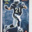 Ladainian Tomlinson Donruss Decals Sticker 2008 Score Chargers