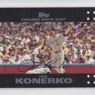 Paul Konerko Baseball Trading Card 2007 Topps Series 1 #34 Whtie Sox