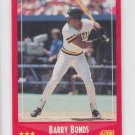 Barry Bonds Baseball Trading Card 1988 Score #265 Pirates Giants