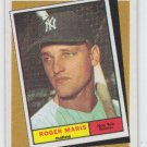 Roger Maris Turn Back The Clock Trading Card 1986 Topps #405 Yankees