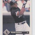 Frank Thomas Baseball Trading Card 1993 Donruss #7 White Sox