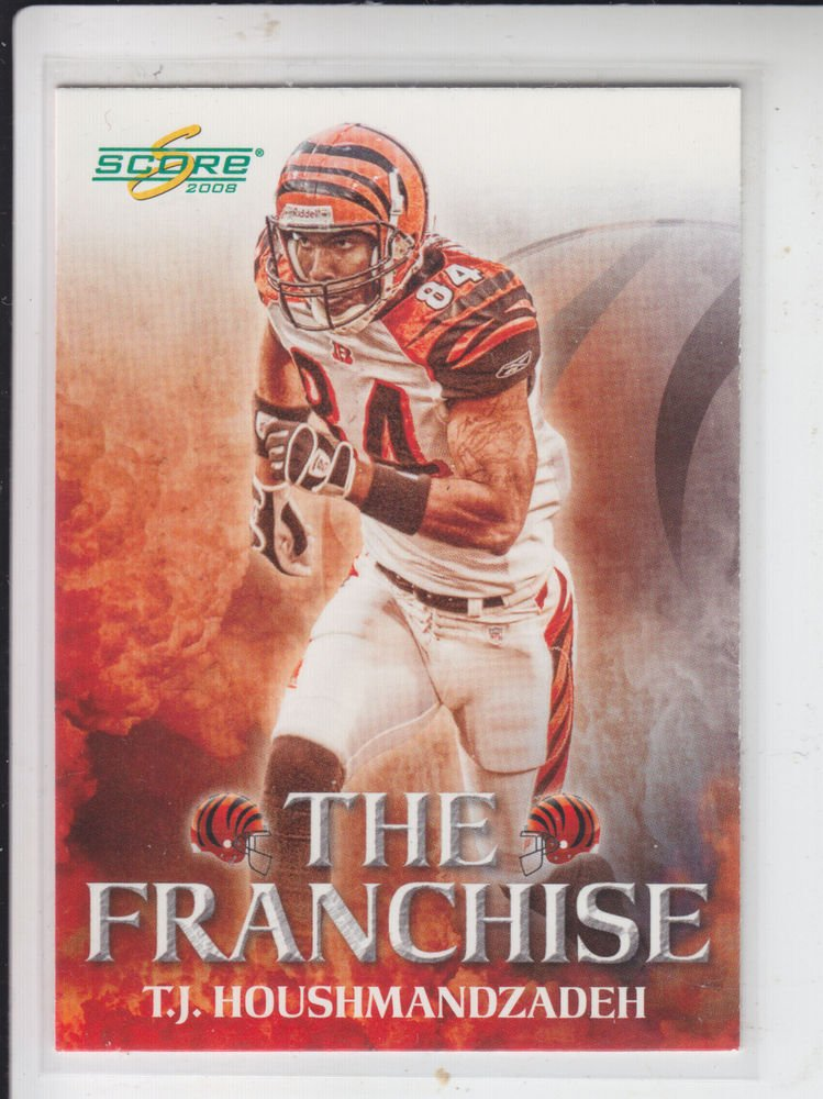 T.J. Houshmandzadeh The Franchise Insert 2008 Score #F-7 Bengals