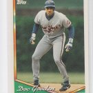 Doc Gooden Baseball Trading Card 1994 Topps Series 1 #150 Mets