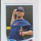Josh Johnson Mini Baseball Card 2013 Topps MLB #473 Blue Jays