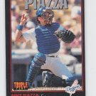 Mike Piazza Rookie Card 1993 Donruss Triple Play #55 Mets