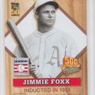 Jimmie Foxx Baseball Trading Card 2001 Topps Post Cereal #3 Athletics