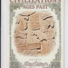 Mayans Civilizations of Ages Past Insert 2013 Topps Allen & Ginter #CAP-MY